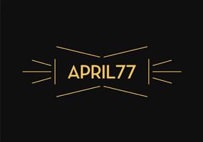 エイプリル77ロゴ