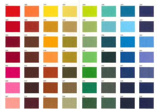 カラーパターン見本
