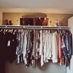 ワードローブの揃え方は着る服の数を決めることが大事