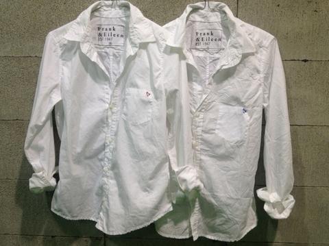 白シャツ(フランク&アイリーン)
