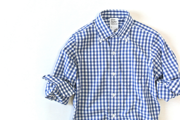 ドレステリアのギンガムチェックシャツ