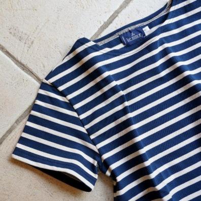 ルミノアのボーダーTシャツ