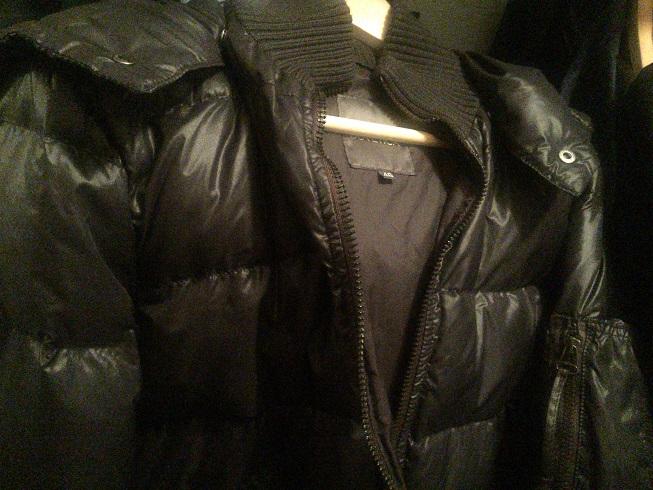 クローゼットで忘れ去られていたデュベティカのダウンジャケット