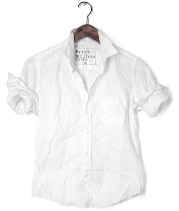 フランク&アイリーンの白シャツ