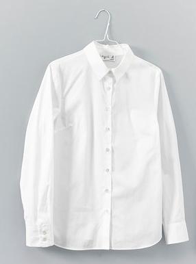アニエスのレディース白シャツ