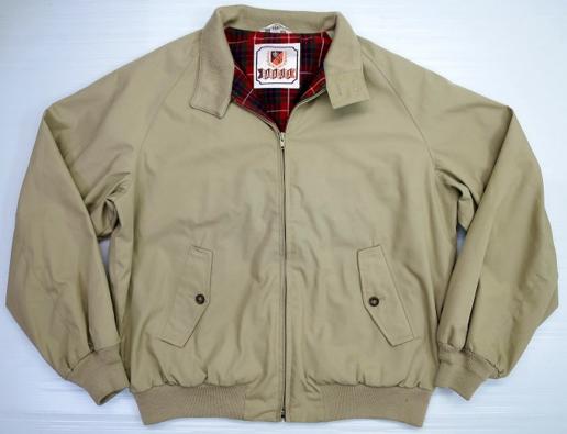 バラクータのハリントンジャケット