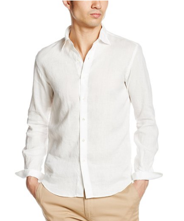 SHIPS SAFILIN (サフィラン)リネン レギュラーカラー シャツ