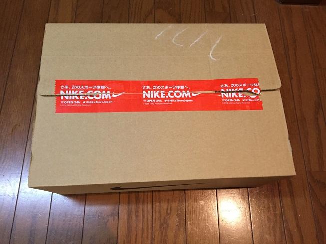 NIKE.COMから届いたスニーカー