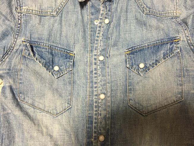 レミレリーフの胸ポケット