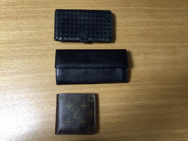 ボッテガ・イルビソンテ・ヴィトンの財布