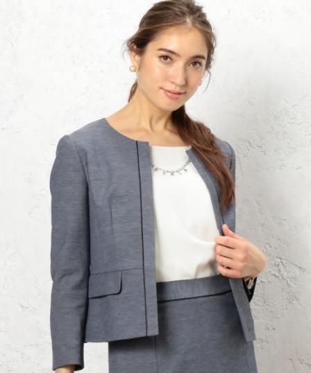 CR SelfWash DRYOX NCジャケット −JSPをコーデする女性モデル